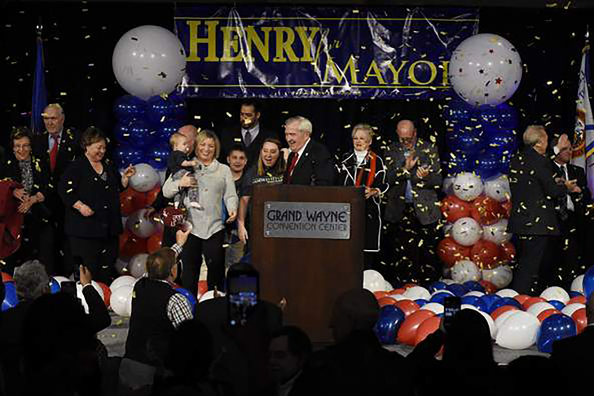 Mayor Henry Wins Fourth Term